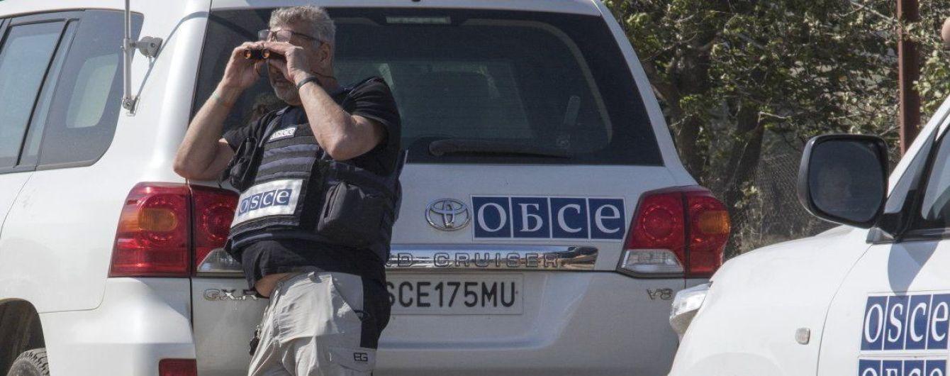 ОБСЄ зафіксувала збільшення кількості вибухів у зоні АТО