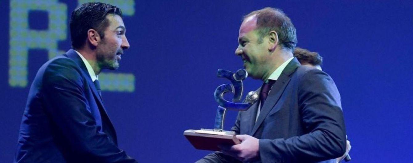 Коли вік - не головне: легендарний Буффон виграв престижну нагороду в Італії