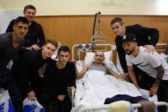Динамо провідало поранених бійців АТО_2
