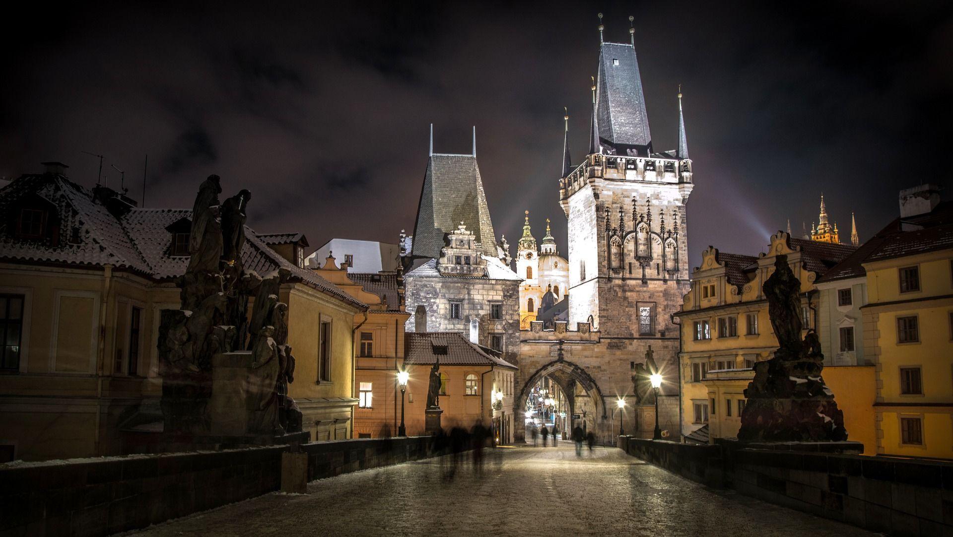 Прага, Чехія, для блогів