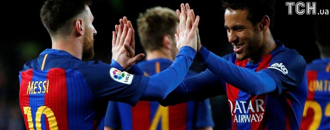 """Мессі знайшов позитив для """"Барселони"""" у трансфері Неймара"""