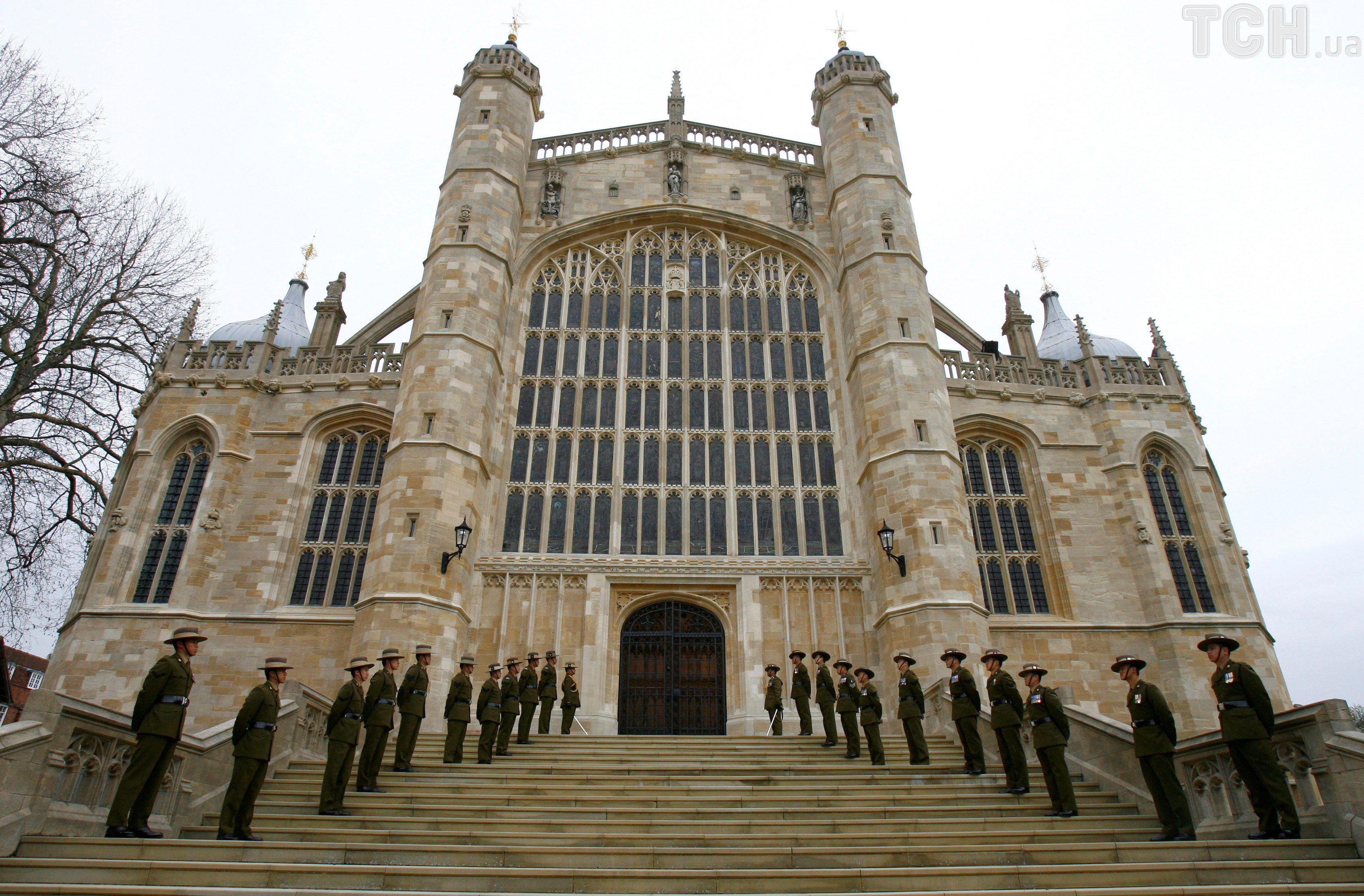 каплиця Св. Георгія, де відбудеться весілля принца Гаррі і Меган Маркл