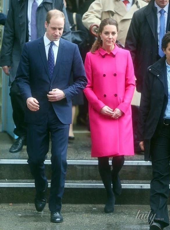 Герцогиня Кембриджская и принц Уильям в США