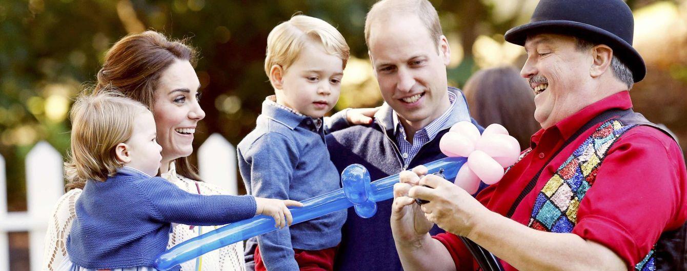 Меган Маркл познакомилась с детьми герцогини Кембриджской и принца Уильяма