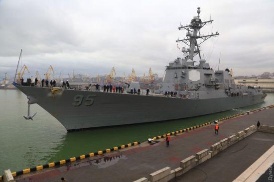 До Одеси прибув американський есмінець