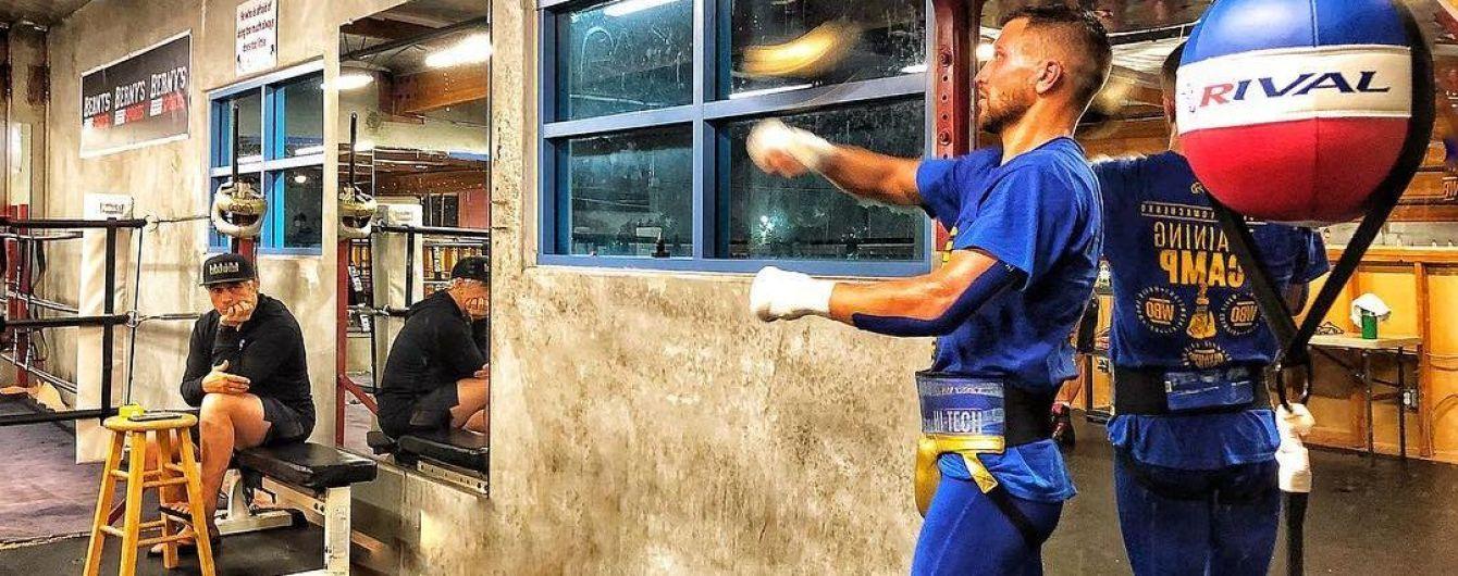 Ломаченко здивував усіх своєю швидкістю та реакцією на відкритому тренуванні
