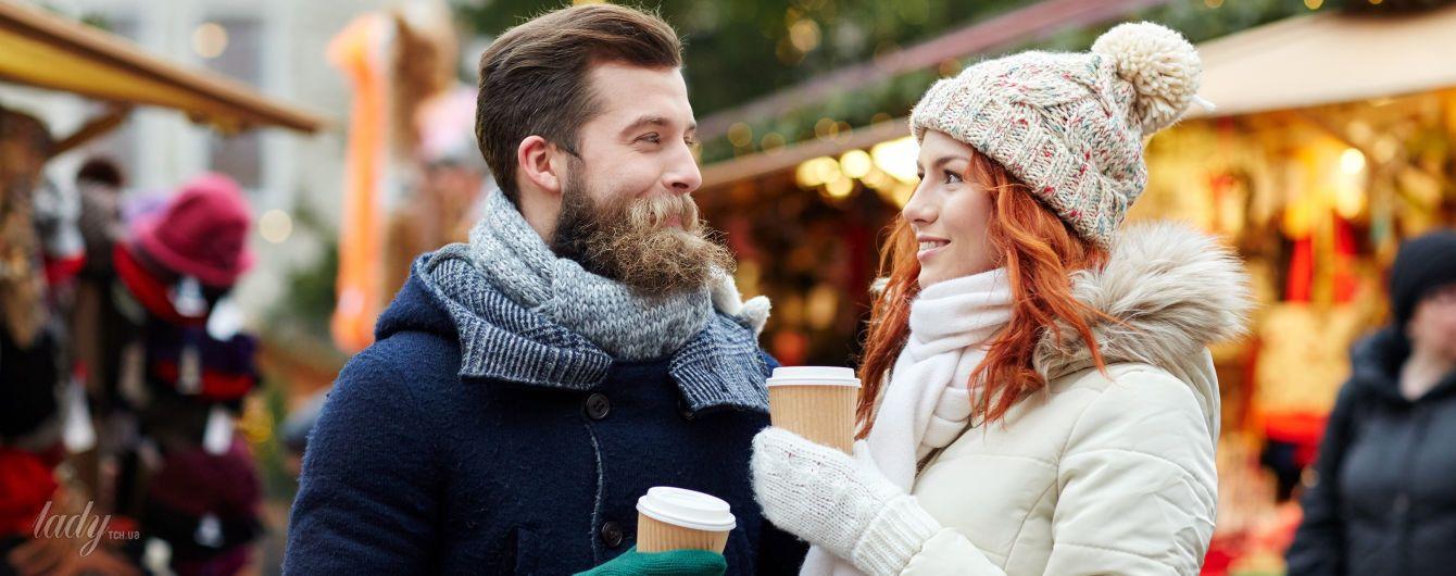 Под кучей одежек: легко ли начинать отношения зимой