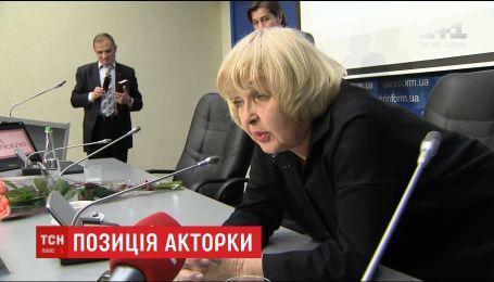 Акторка Ада Роговцева висловила свою позицію щодо українців, які їздять на гастролі в Росію
