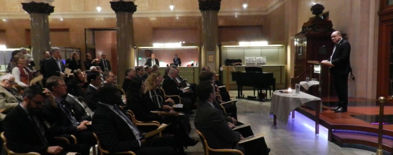 В шведском парламенте впервые почтили память жертв Голодомора в Украине