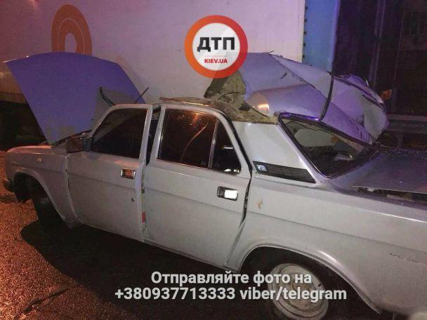 В Киеве по вине пьяного водителя тяжело искалечена женщина