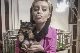 """Сага иранской """"Джоли"""": девушка сделала неожиданное заявление по поводу своей внешности"""