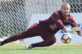 Сербський воротар мало не зламав поперечину після потужного пострілу зі штрафного