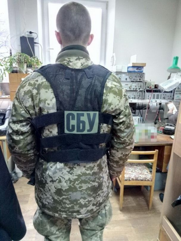 СБУ заблокировала нелегальные поставки военного оборудования в Россию