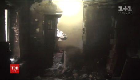 В Харькове прохожий спас ребенка из горящего дома