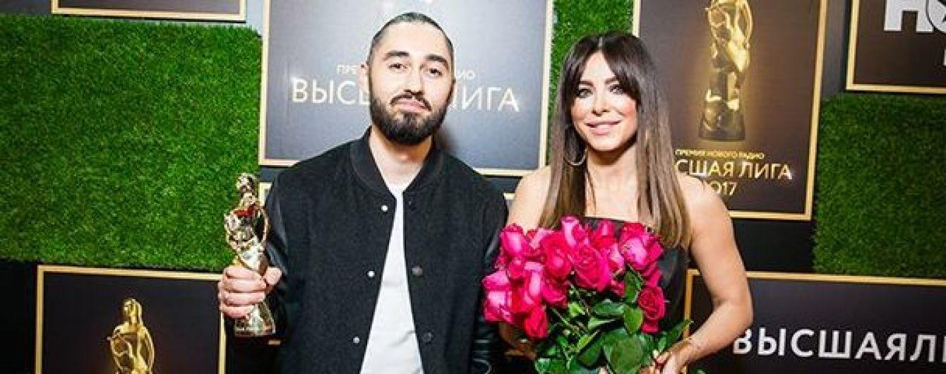 Лобода, Лорак и Каменских отметились на российской премии в Москве