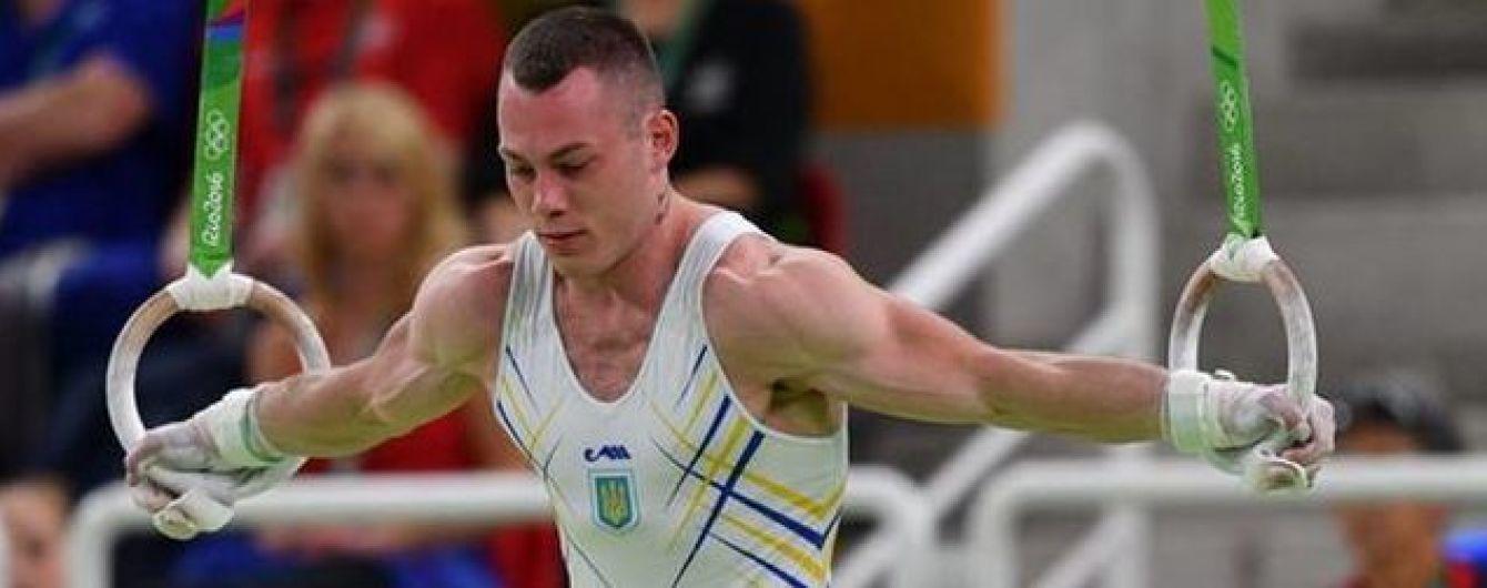 Гімнаст Радивілов вдруге поспіль став найкращим спортсменом місяця