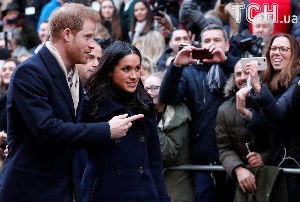 Принц Гарри и Меган Маркл совершили свой первый официальный выход в качестве пары