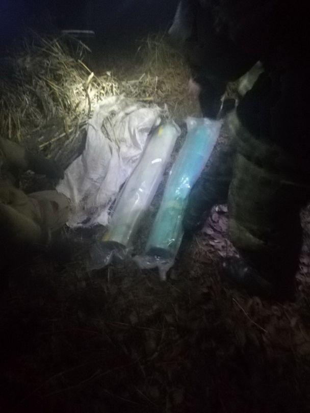 На Запоріжжі знайшли схованки з вибухівкою та гранатометами, вивезеними з зони АТО
