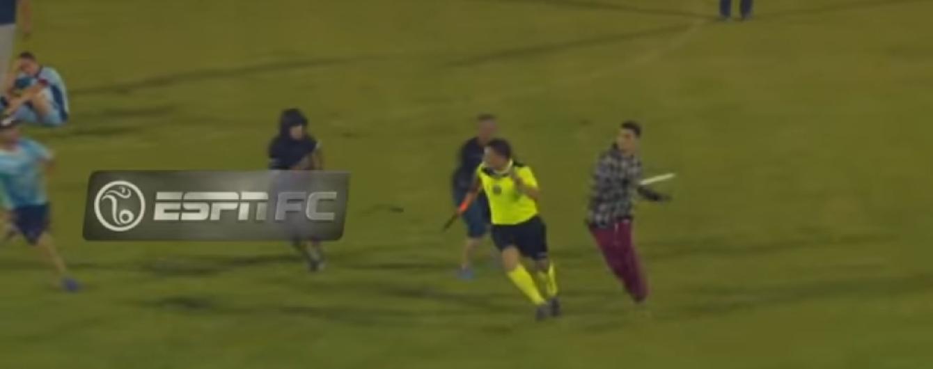 Вболівальники аргентинської команди жорстоко побили суддівську бригаду