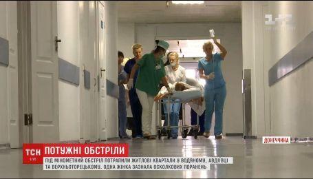 Во время обстрелов получила ранение жительница села Верхнеторецкое