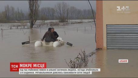 Албания страдает от разрушительного наводнения