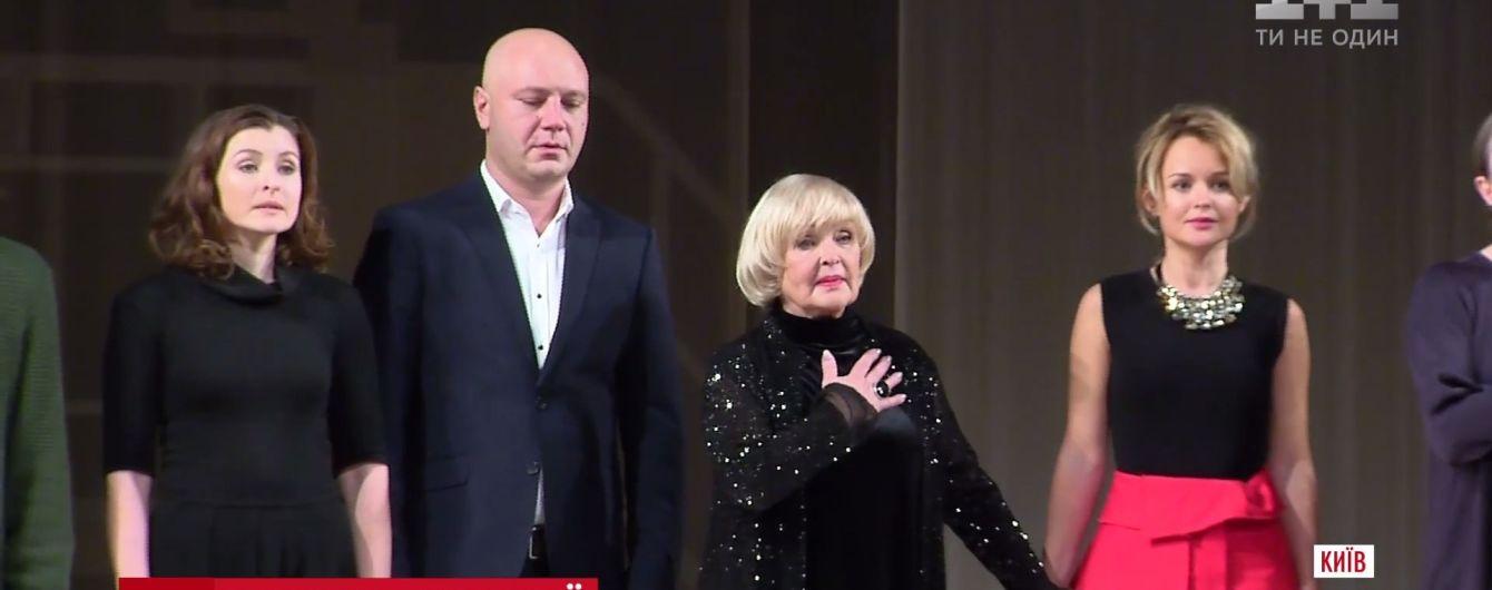 """""""За таких, как она, мы воюем"""": военные пришли на юбилей Ады Роговцевой"""