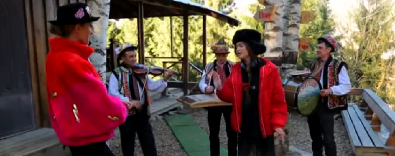 Прогулка на лошадях, пение с музыкантами и гуцульские блюда: Мария Яремчук показала край, в котором выросла