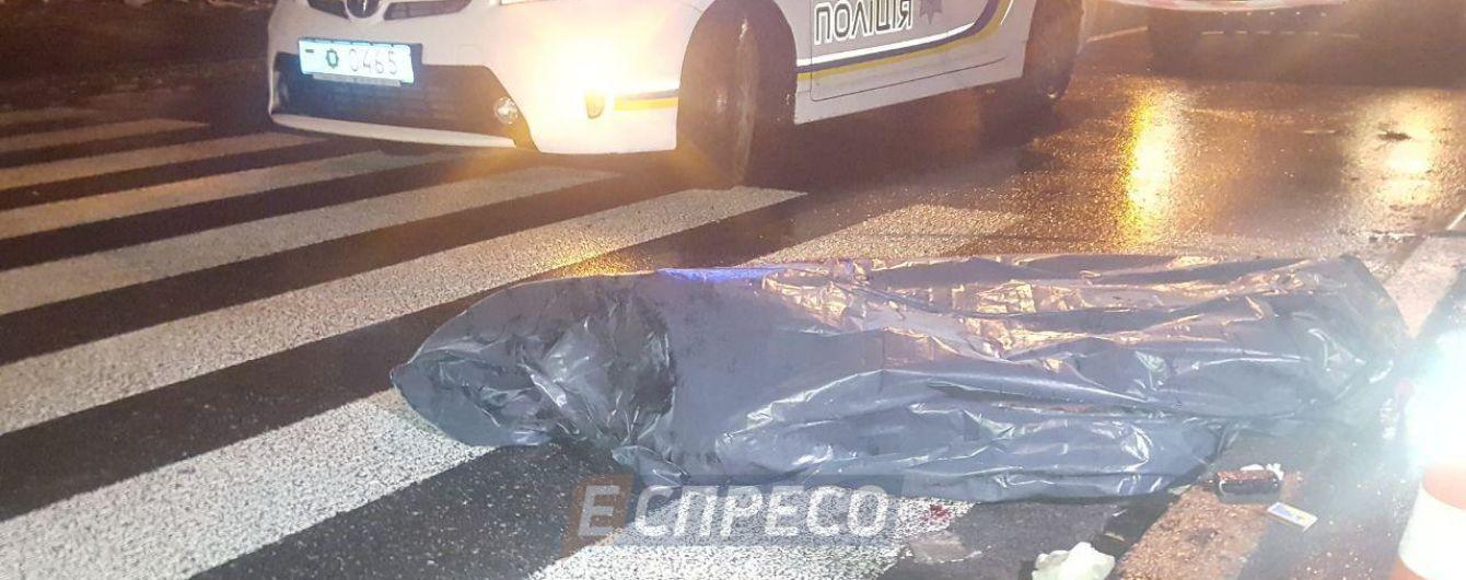 В Киеве автомобиль насмерть сбил мужчину и скрылся с места ДТП