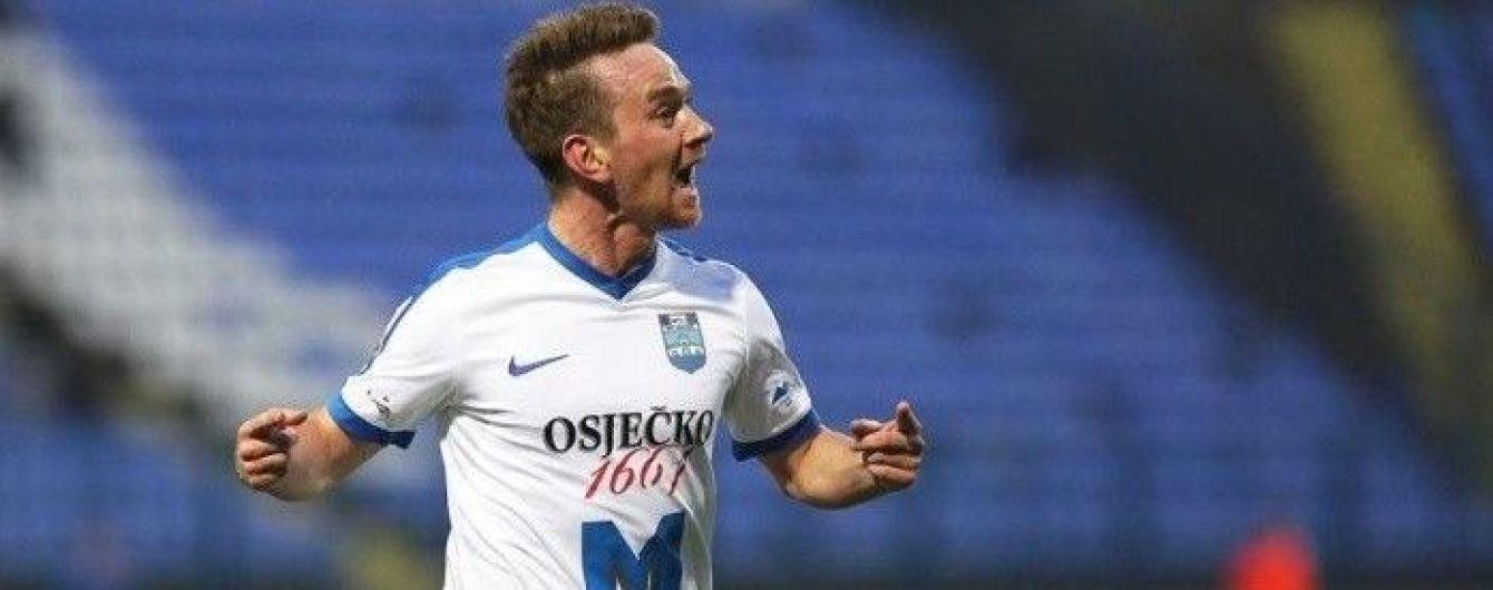 Украинский футболист забил изящный гол в Хорватии