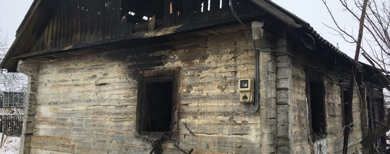 В Житомирской области в результате пожара погибли двое детей