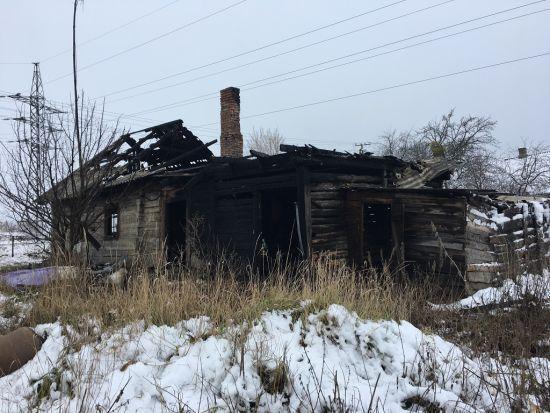 Загибель дітей на Житомирщині сталася в хаті, котра вже горіла кілька років тому