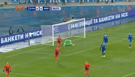 Динамо - Мариуполь - 0:1. Видео гола Болбата