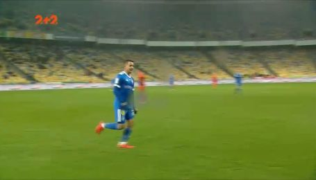 Динамо - Маріуполь - 5:1. Відео голу Гонсалеса