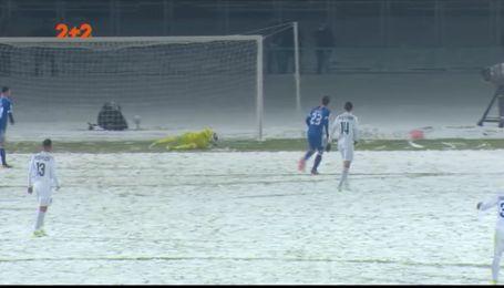 Десна - Динамо - 0:2. Как киевляне сквозь снег прорывались в полуфинал Кубка Украины