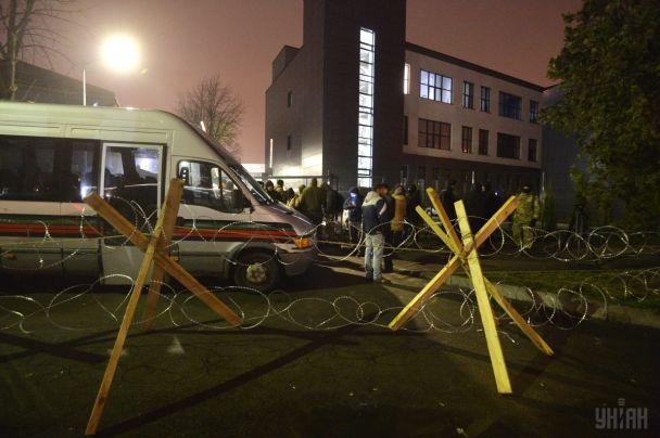 Активисты назвали условия снятия блокады с телеканала NewsOne