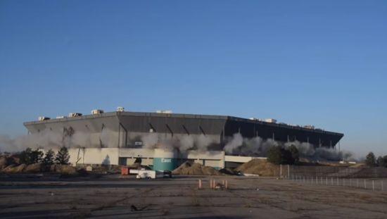 Біля Детройта не змогли підірвати стадіон: арена встояла