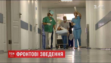 Потери на передовой. Один украинский воин погиб