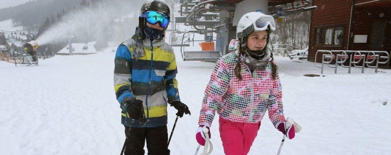 В Україні стартував лижний сезон, у Буковелі відкрили перші дві траси