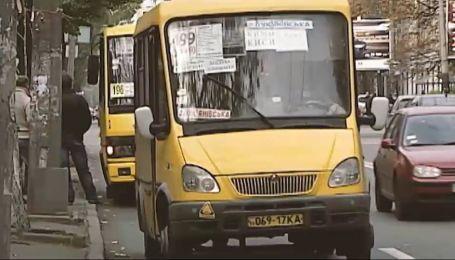 Інспекція транспорту: майже кожна друга маршрутка столиці їздить нелегально