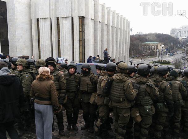 В СБУ назвали причину задержания Саакашвили. Инцидент в фотографиях