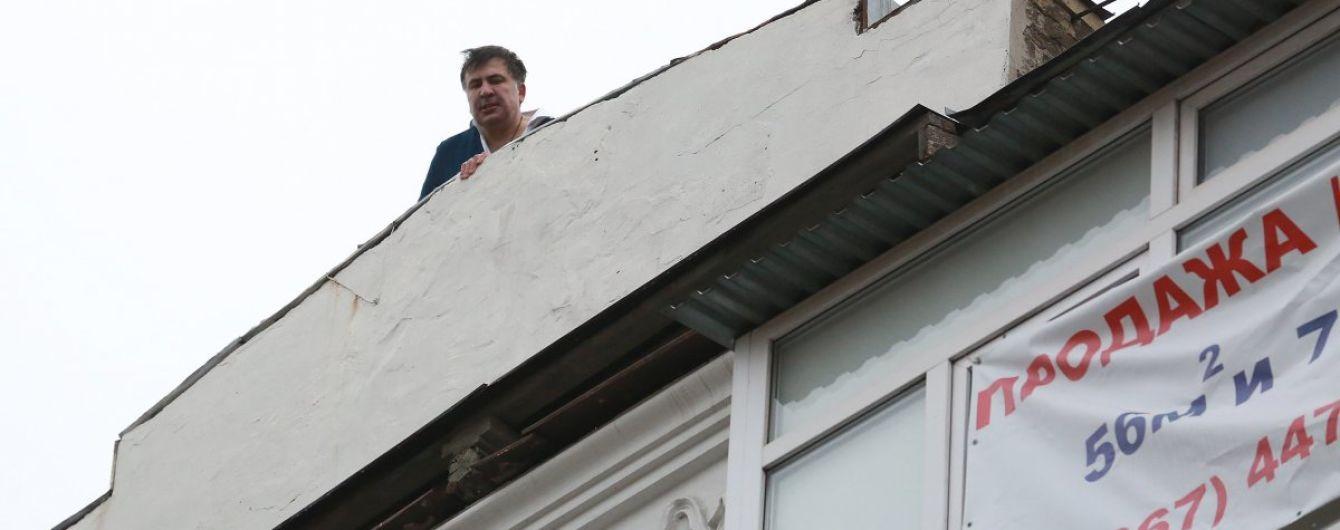 Украинские депутаты сравнили Саакашвили с Лениным и Карлсоном после дневных событий в Киеве