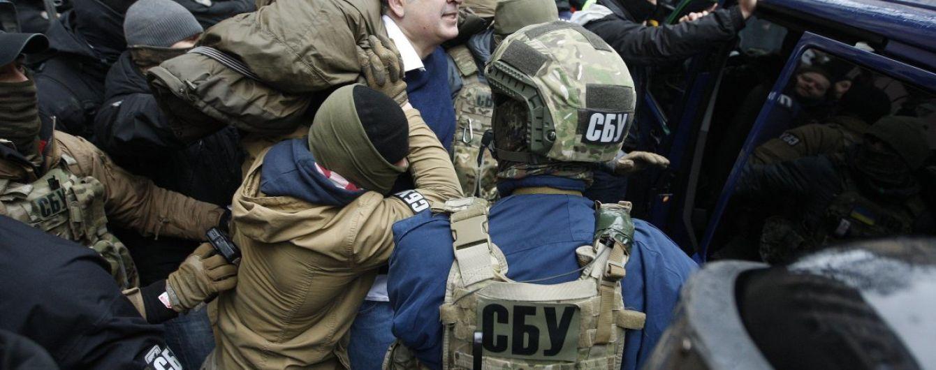 """Соратники Саакашвили назвали его задержание """"похищением"""""""