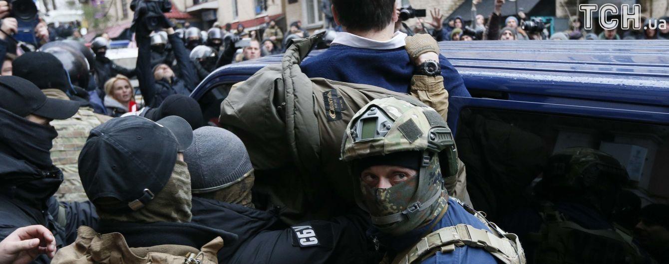 В результате столкновений под домом Саакашвили задержаны 5 человек