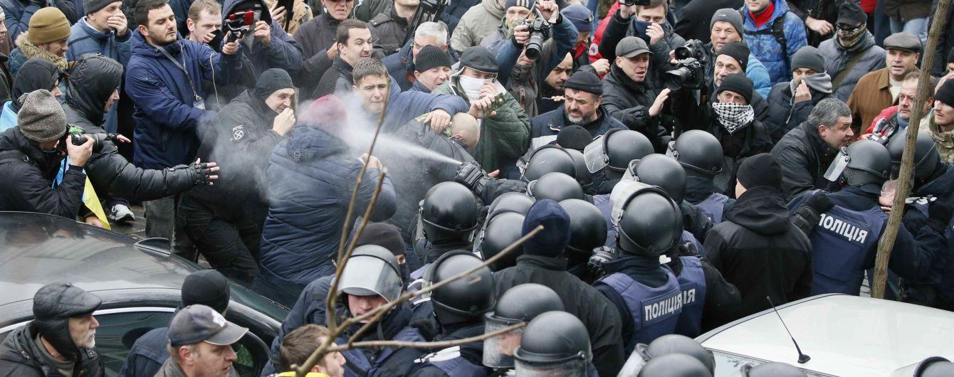Против депутатов, которые мешали задержанию Саакашвили, открыли производство