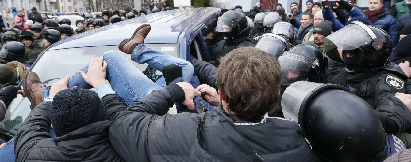 Нацполиция получила поручение на розыск Саакашвили