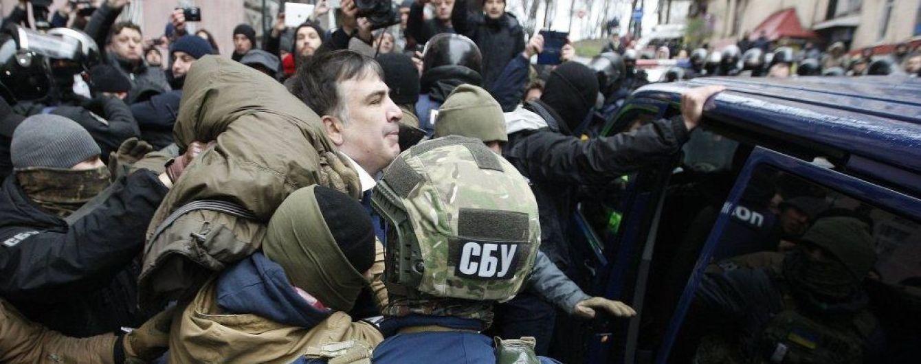 Саакашвили проводил акции за деньги Курченко для захвата власти в Украине - Луценко
