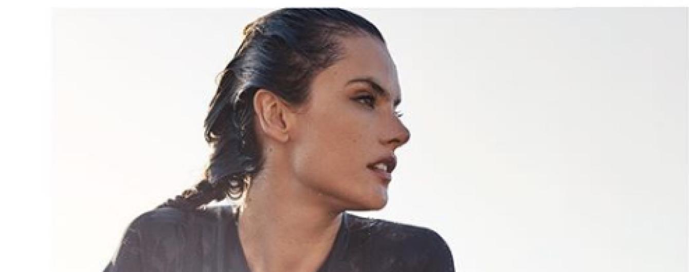 Гидрокостюм, маска и часы с бриллиантами: сексуальная Алессандра Амбросио в промокампании Omega