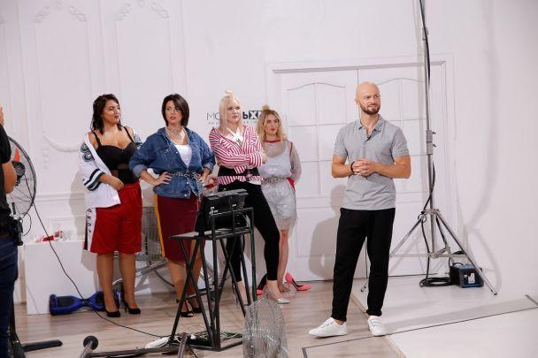 """Участницы """"Модель XL"""" на """"1+1"""" снимутся в клипе группы Mozgi"""