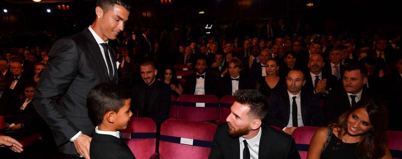 Син Роналду назвав Мессі своїм кумиром