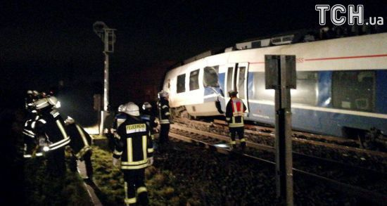 У Німеччині зіткнулися поїзди – є травмовані